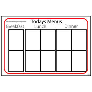 Menu Board Type 1