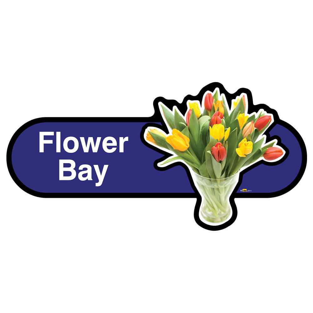 Flower Bay Sign