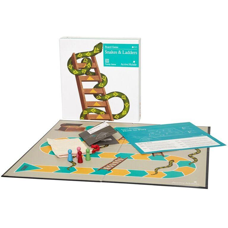Snakes & Ladders Simple Board Game