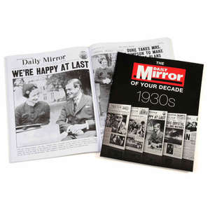 Daily mirror 1940s softback cover