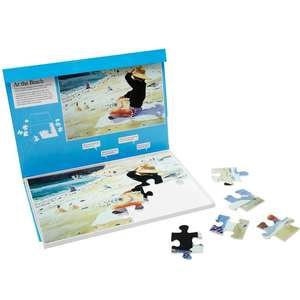 Jigsaw Puzzle 24 Piece - At the Beach