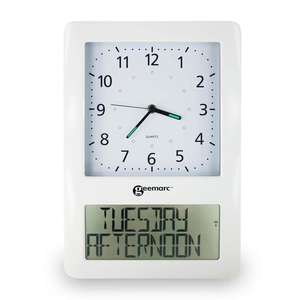 VISO 50 Analogue Clock with Digital Display