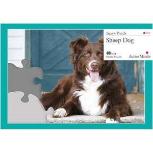 13 Piece Jigsaw Puzzle - Sheep Dog