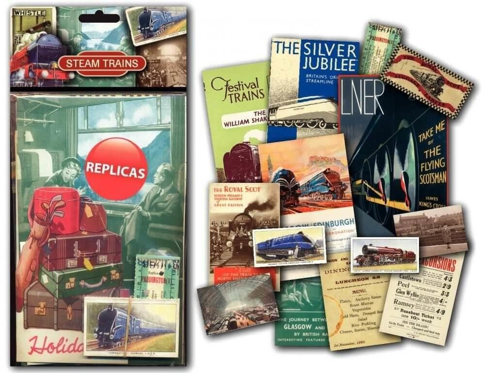 Memorabilia Pack - Steam Trains