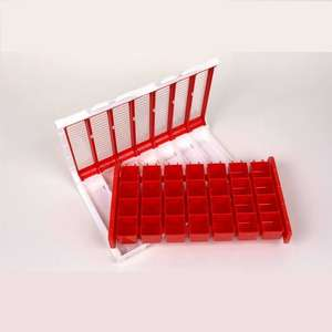 Pivotell Large Weekly Pill Organiser - Red