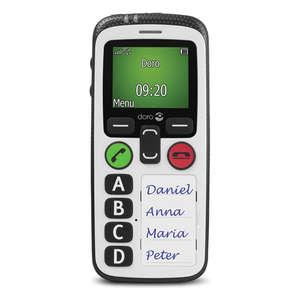 Doro Secure 580 Mobile Phone - SIM Free