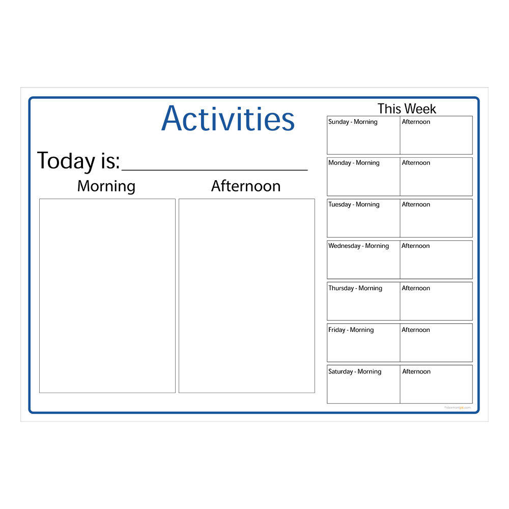 Activity Board Type 3