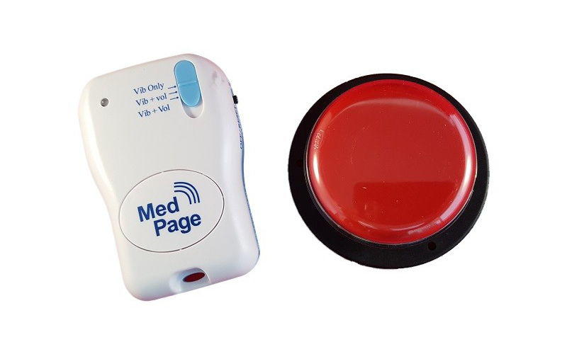 Wireless Easy Press Jelly Switch with MPPL Pager - Complete Kit