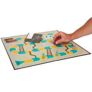 Snakes and Ladders with player