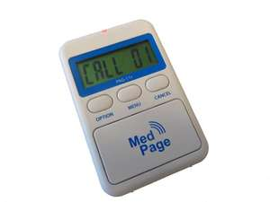 Pager for MPPL Systems with LCD Display