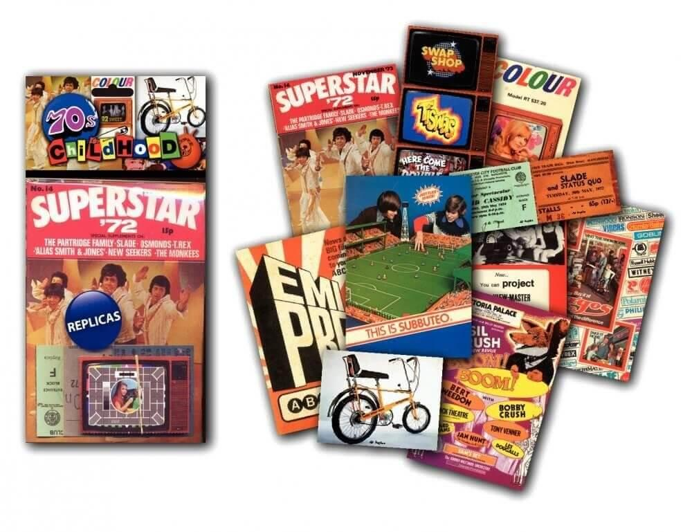 Memorabilia Pack - 1970s Childhood