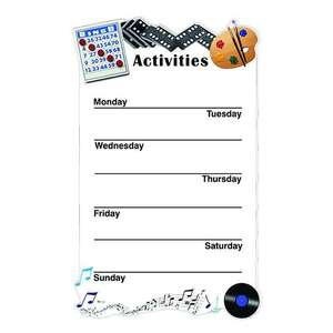 Weekly Activity Board for Care Homes - Simplified