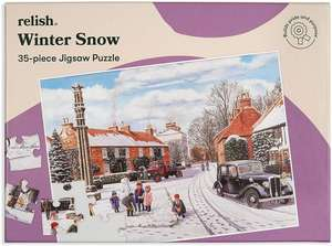 Jigsaw Puzzles 35 Piece - Winter Snow