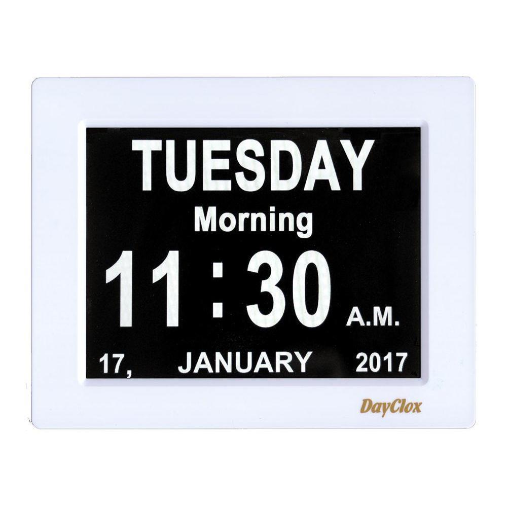 DayClox 3-in-1 Digital Calendar Clock