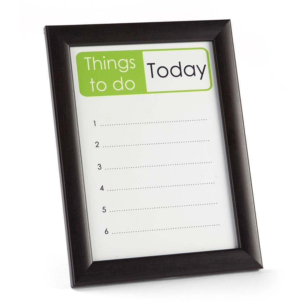 Dry-Wipe Reminder Frame & Pen