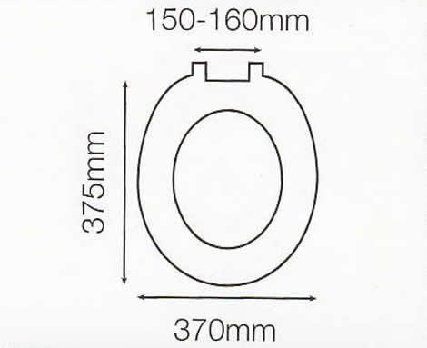 uk toilet seat sizes. Toilet Seat Dimensions Premium Stability