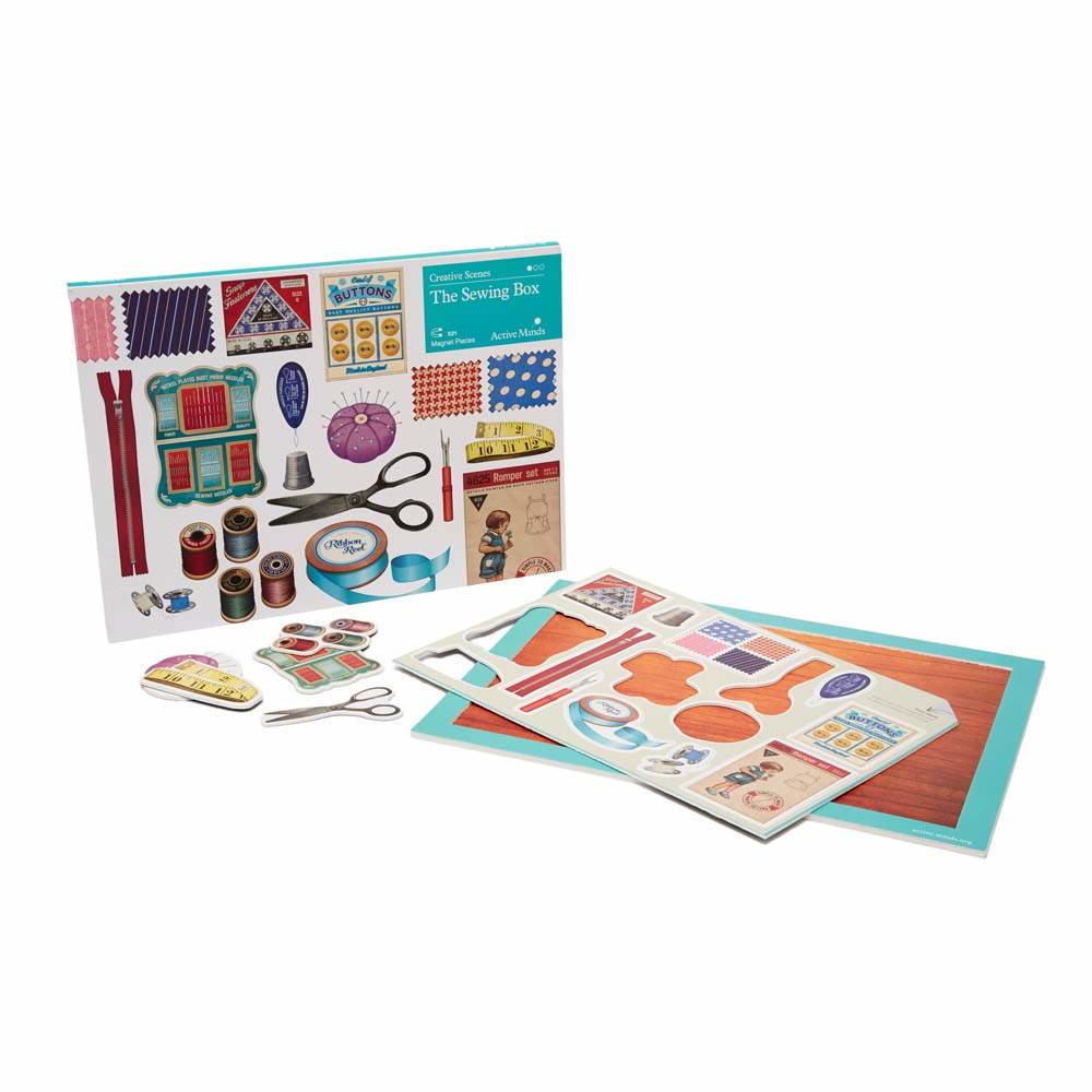 Creative Scenes Puzzle - The Sewing Box