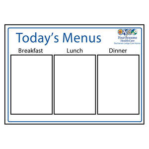 Menu Board Type 2
