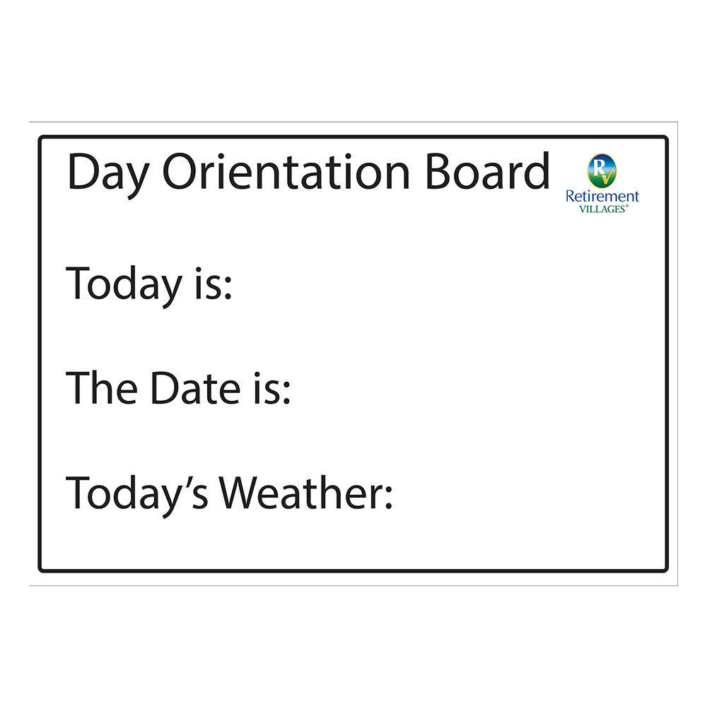 Day Orientation Board - Type 3