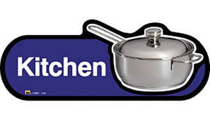 Kitchen Sign inBlue