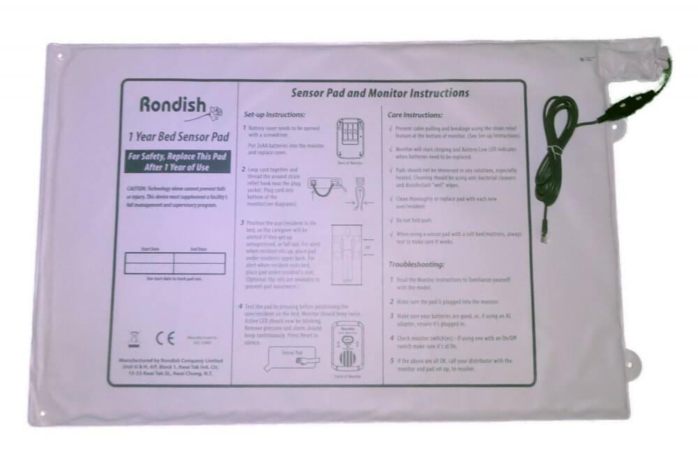 Bed Sensor for Rondish Alarm Transmitter