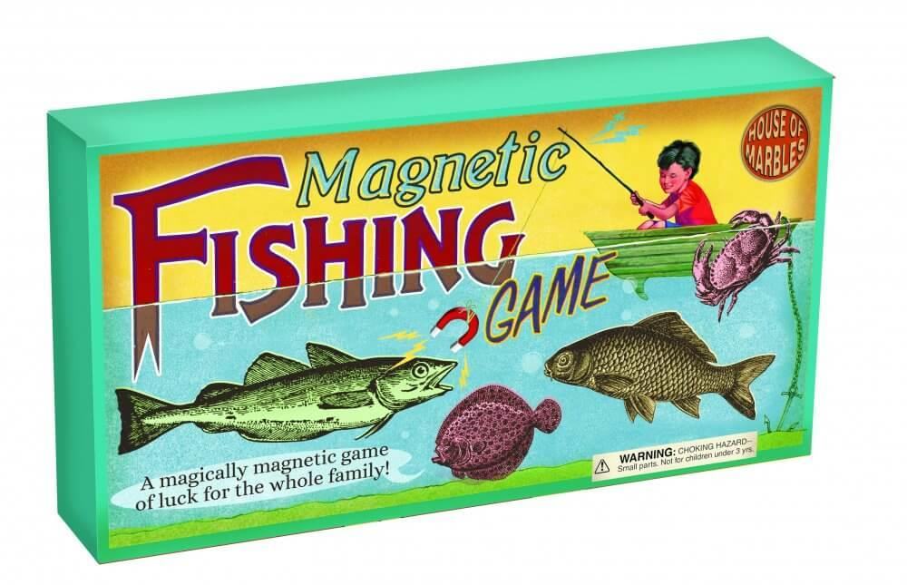 Magnetic Fishing - Retro Game