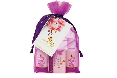 Royal Orchid Organza Bag