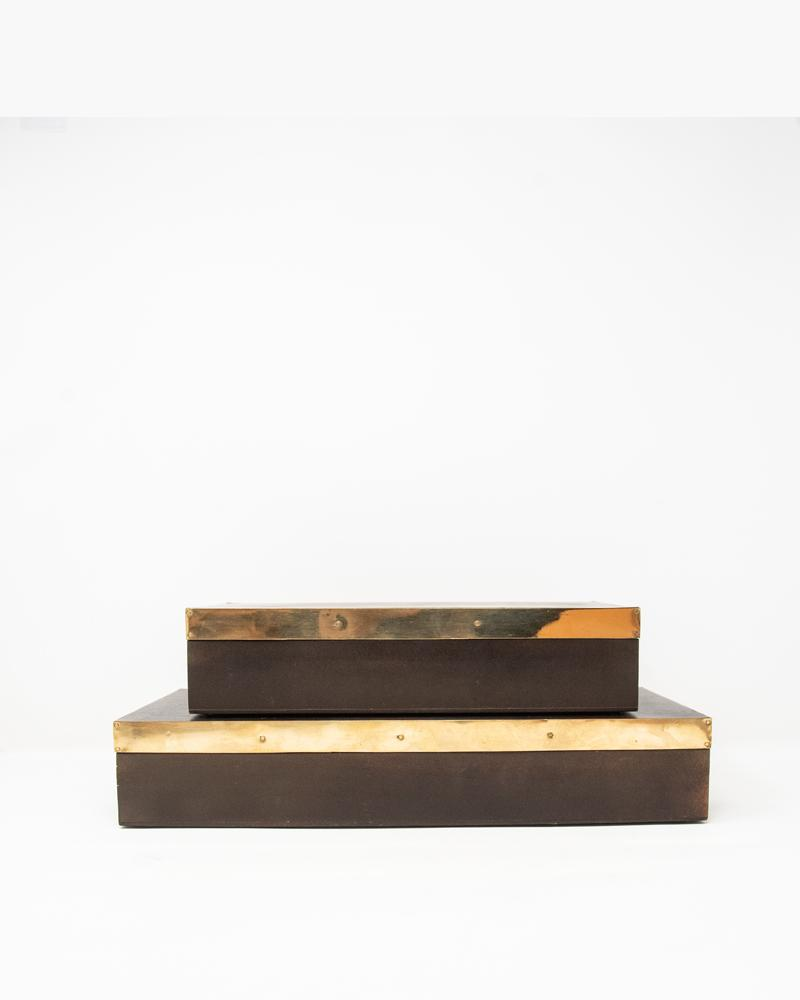 box, luxury accessories, aura london, wood, gold
