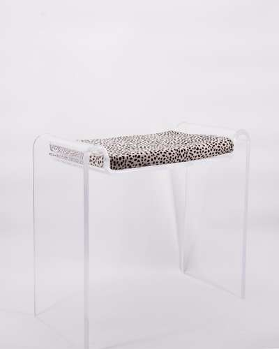 perspex, stool, seating, luxury, furniture