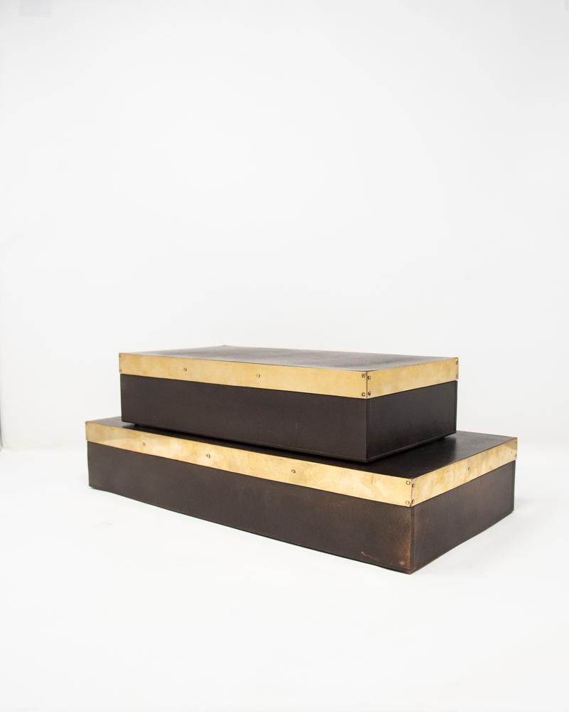 box, luxury accessories, aura london, wood, gold,