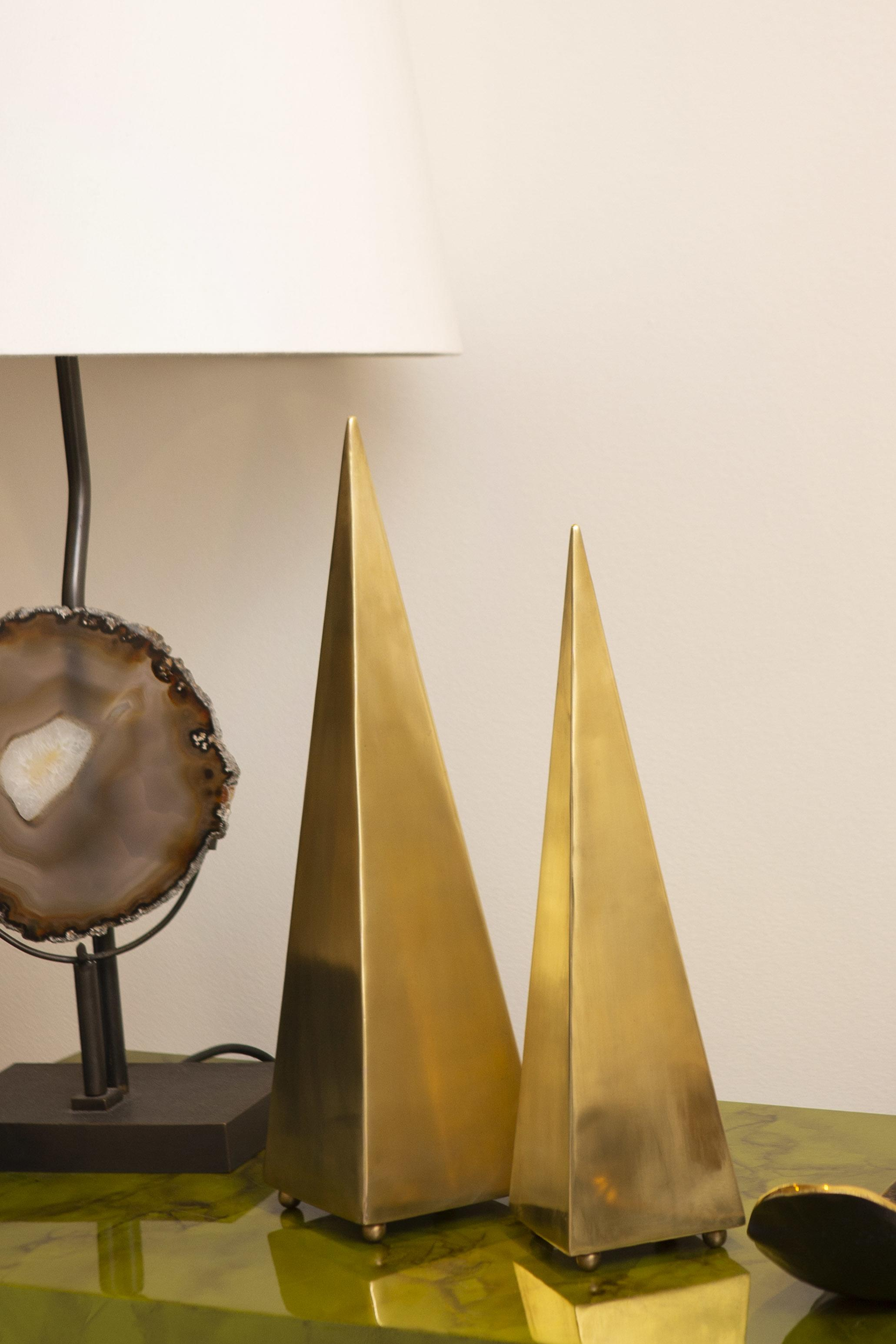 sculpture, gold, brass, aura london, luxury accessories