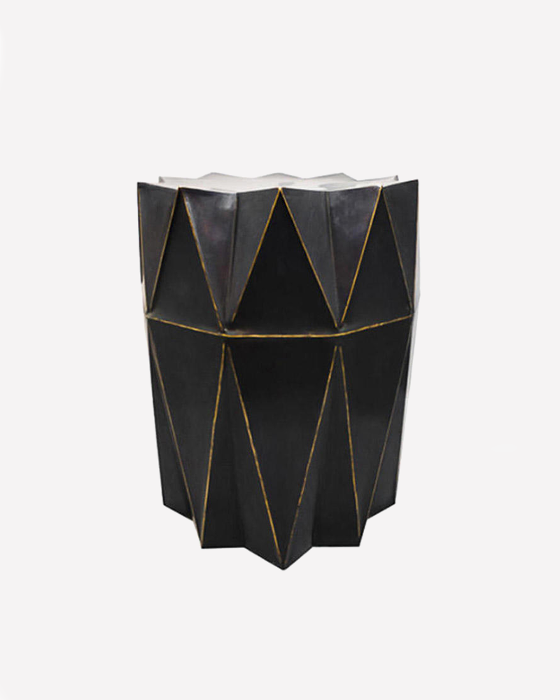 stool, gold, furniture, luxury accessories, aura londonl