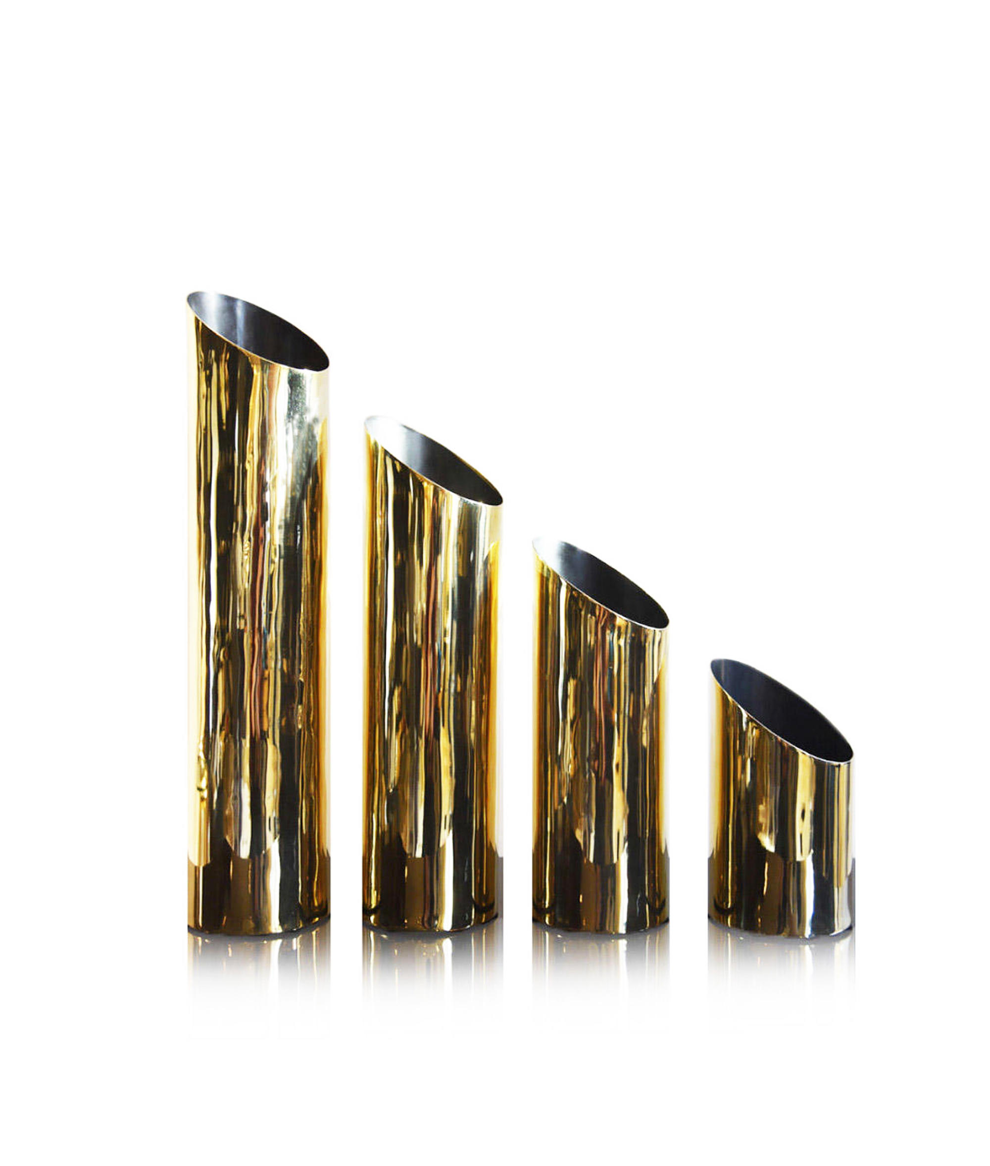 VASE, luxury accessories,aura london, gold
