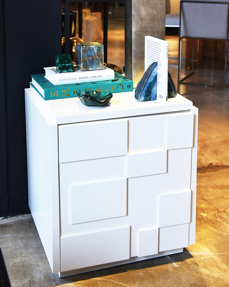 drawer, beside table, decor, luxury furniture, aura london
