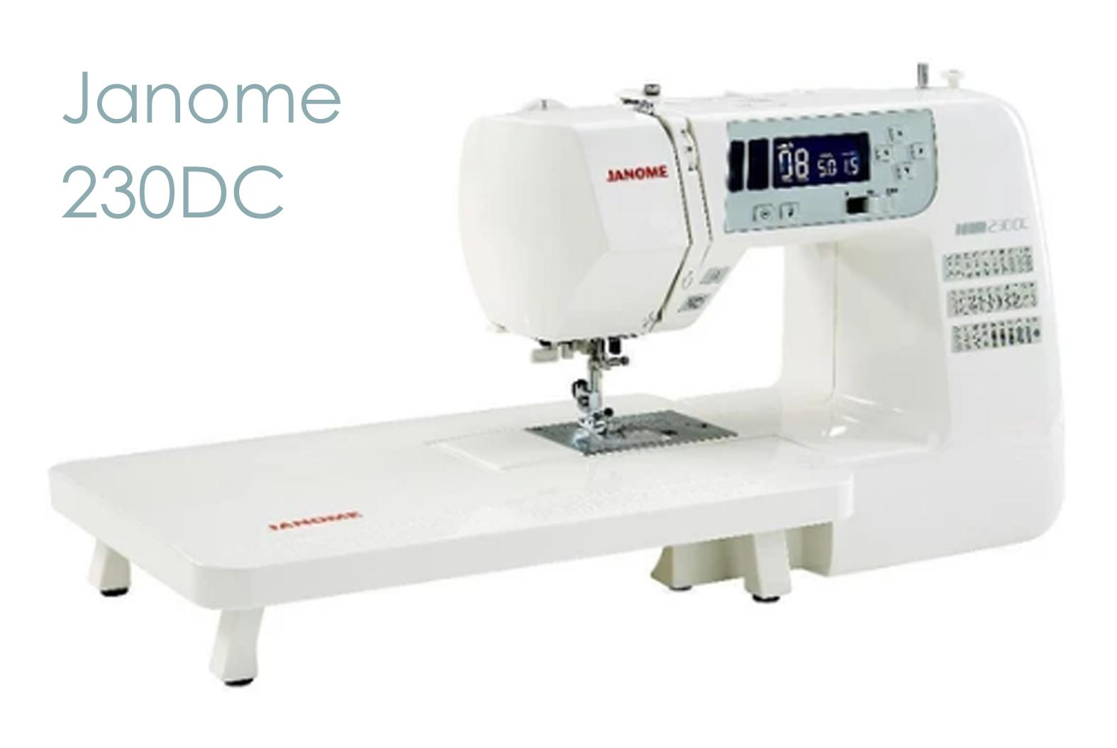 Janome 230DC a good sewing machine for free motion embroidery