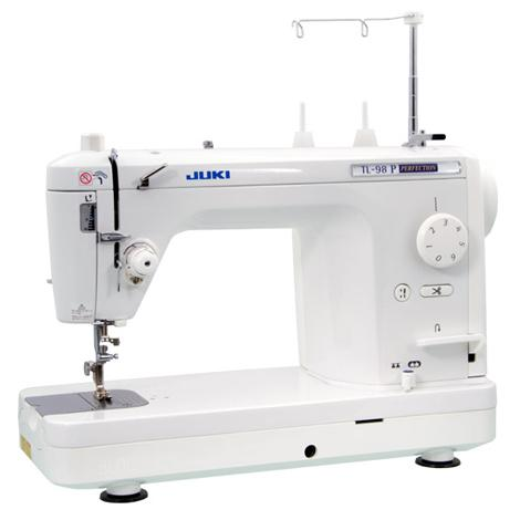 Juki TL-98P sewing machine, a semi industrial machine that Jo Hill uses for all of her embroidery design