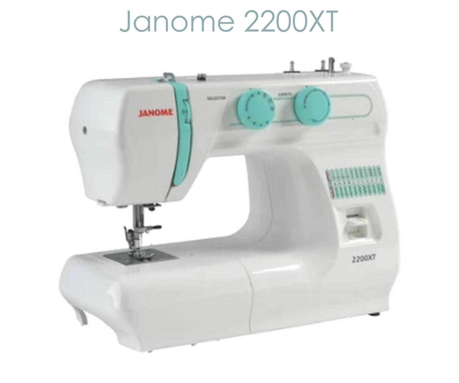 Janome 2200XT a good budget sewing machine for free motion sewing