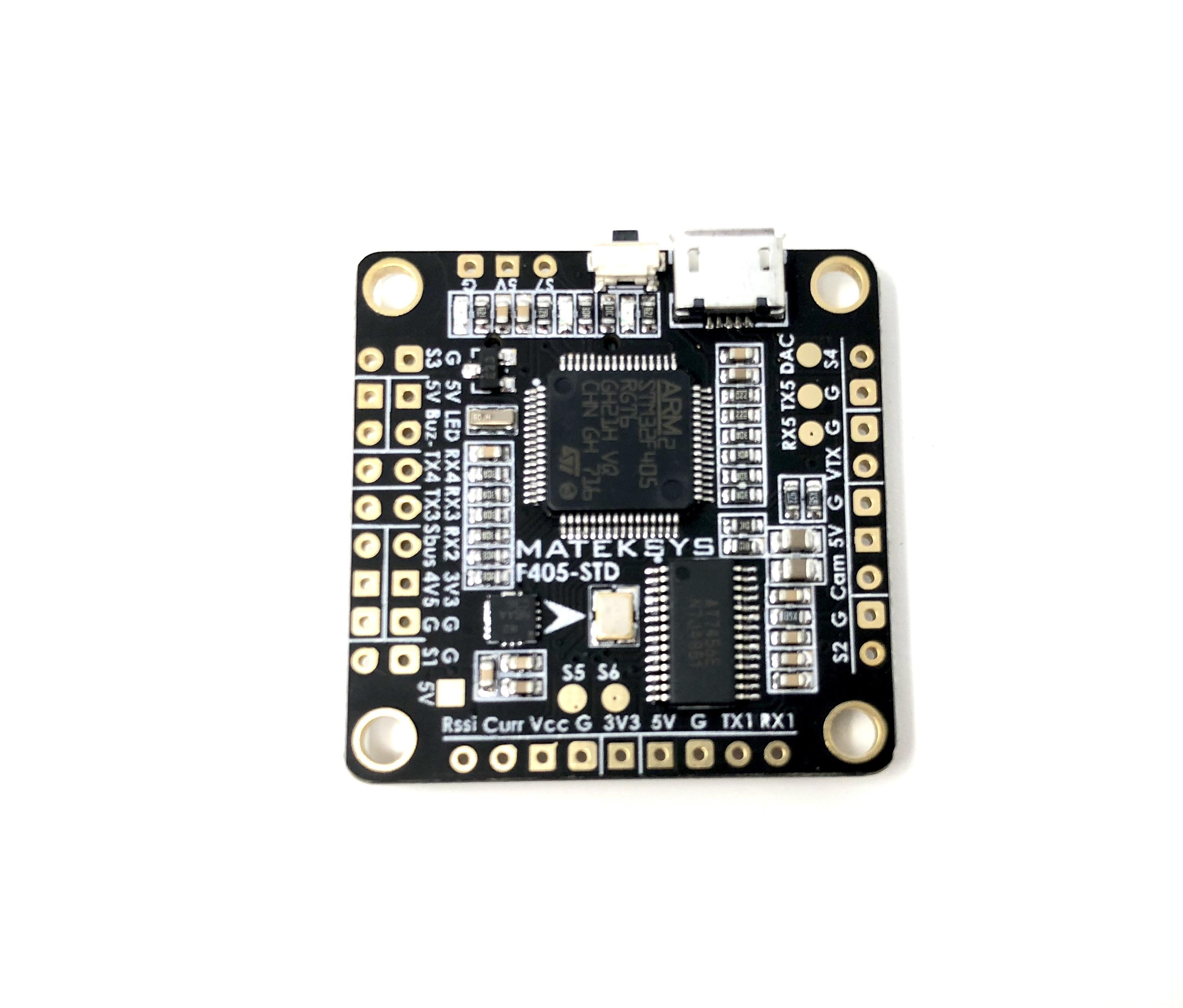 Matek F405 STD Betaflight Flight Controller a very smooth FC perfect for Drone racing