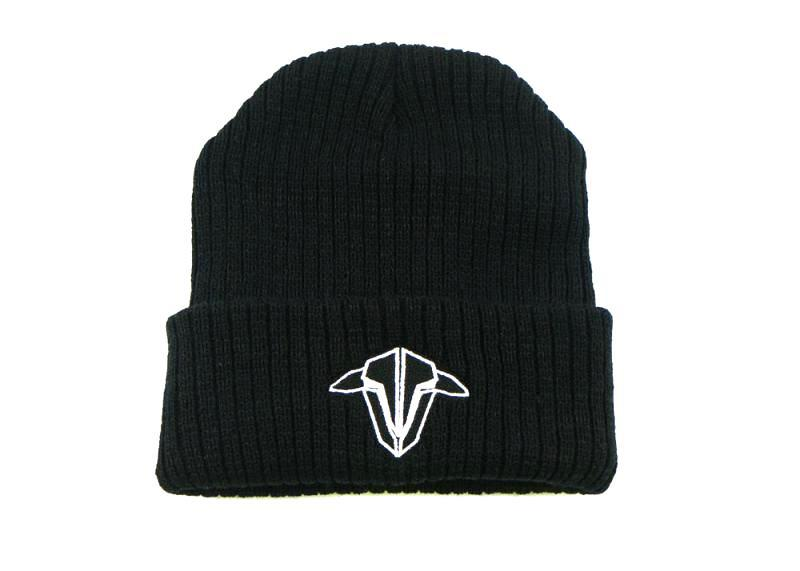 TBS Black Sheep Beanie Hat Black