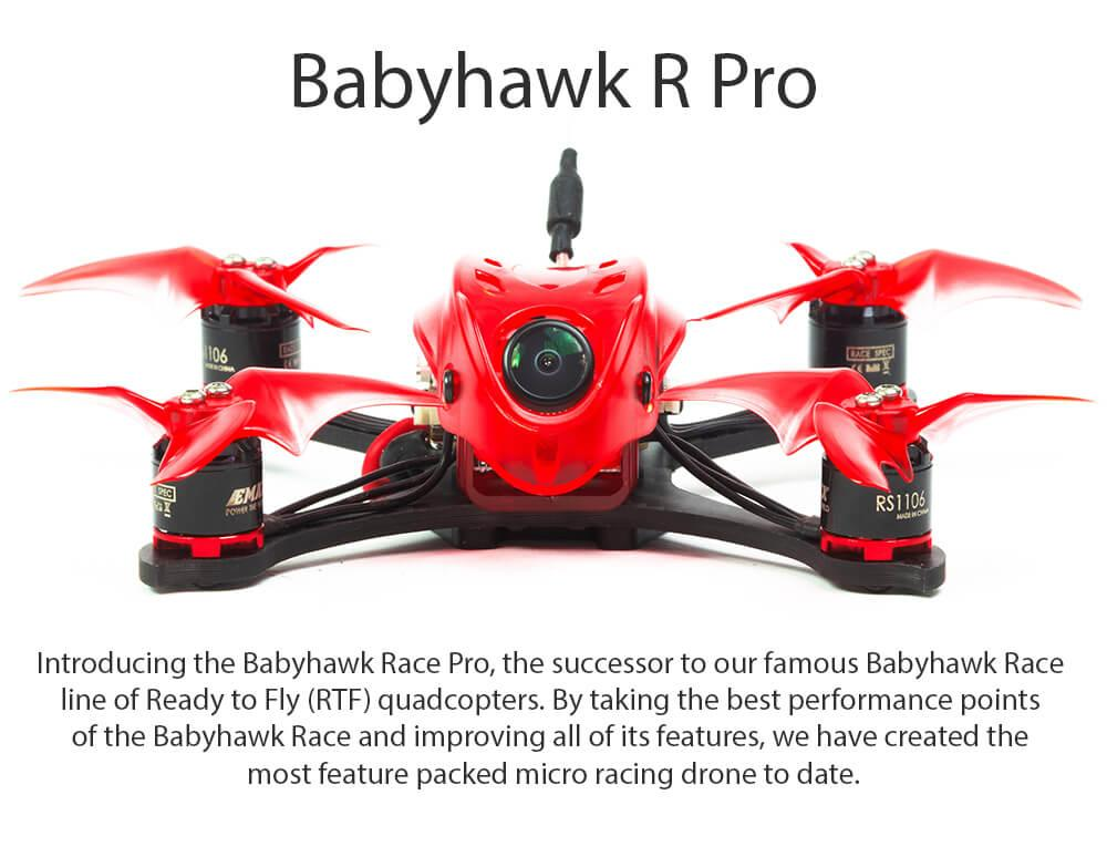 Emax Babyhawk R Pro Mini Racing drone uk BNF