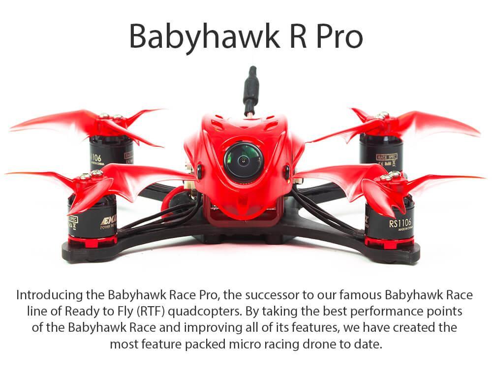 Emax Babyhawk R Pro Mini Racing drone uk BNF