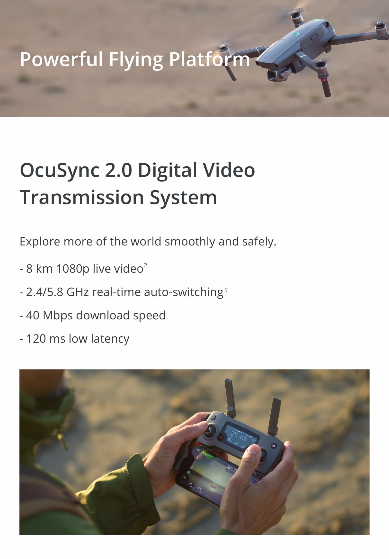 DJI Mavic 2 with Occusync