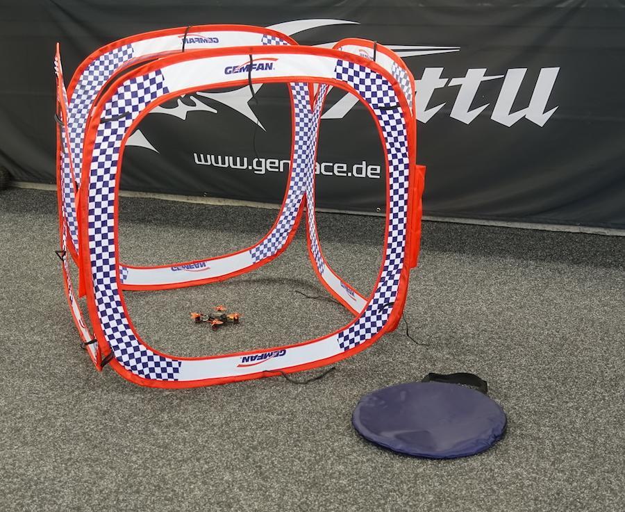 Gemfan racing drone gate cube