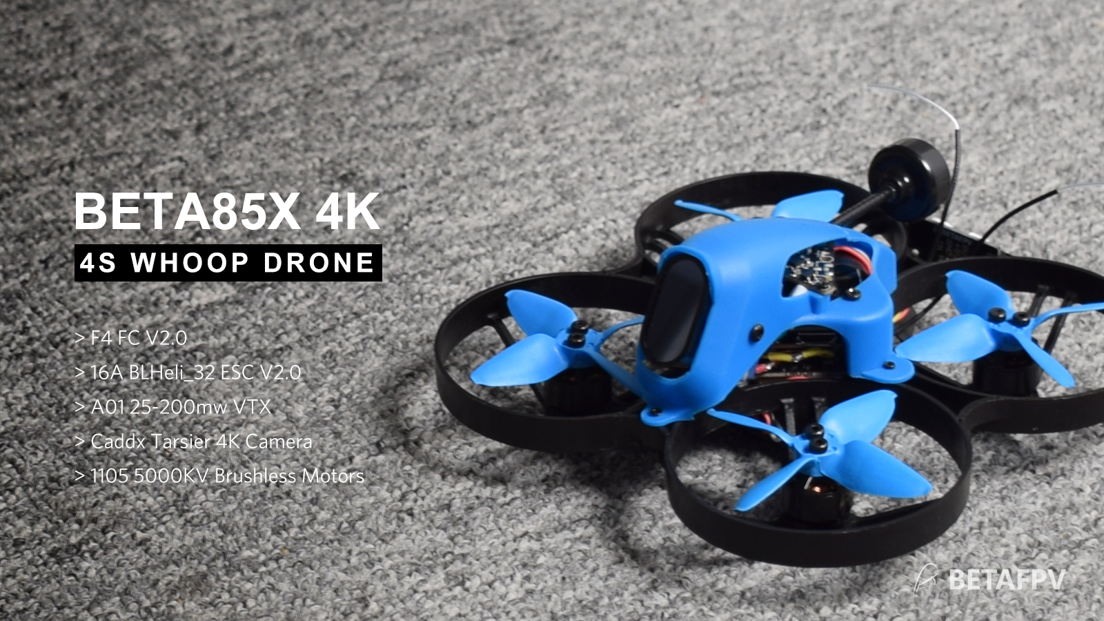 Beta85X 4K Whoop Quadcopter (4S) uk stock ready to ship