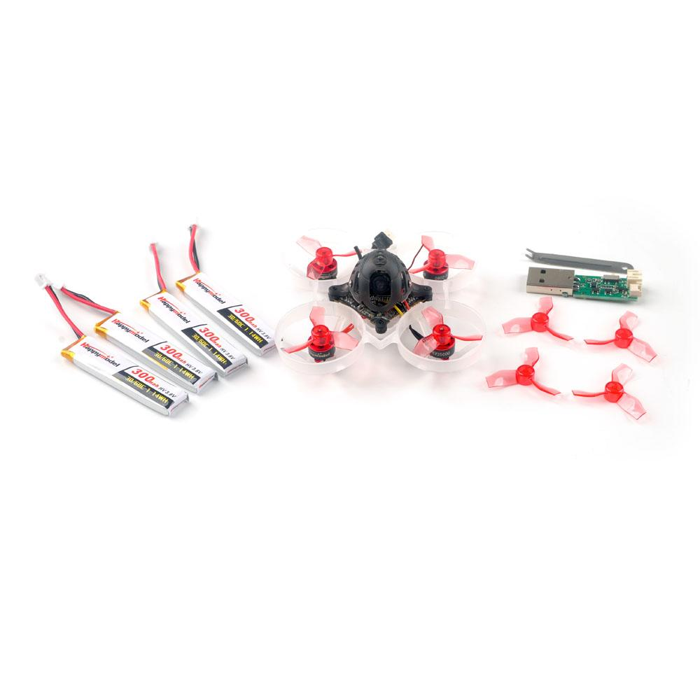 Package included with the Mobula 6 drone inc spare batteries
