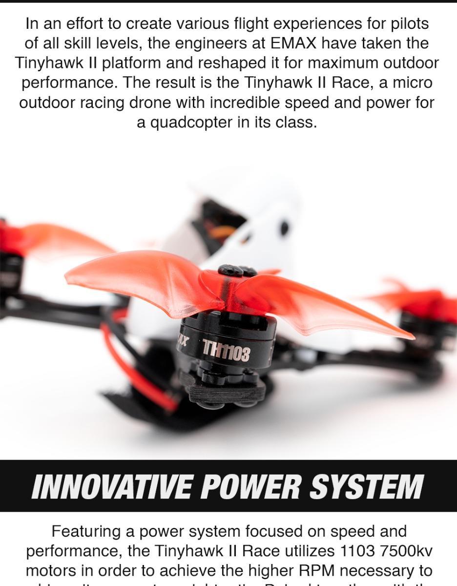 tinyhawk race 2 motors are powerful