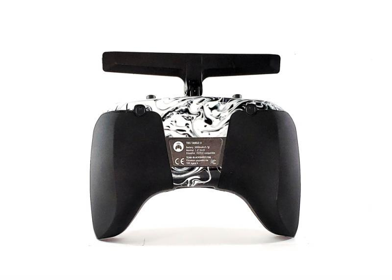 TBS TANGO 2 SKIN - LIQUIFY BLACK AND WHITE Rear