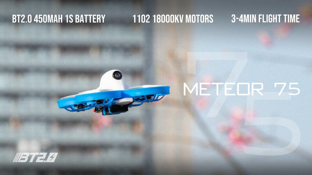 BetaFPV Meteor75 Brushless Whoop Quadcopter (1S)