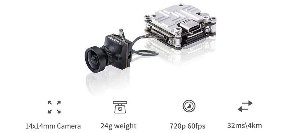 caddx nebula hd camera and vex dji compatible