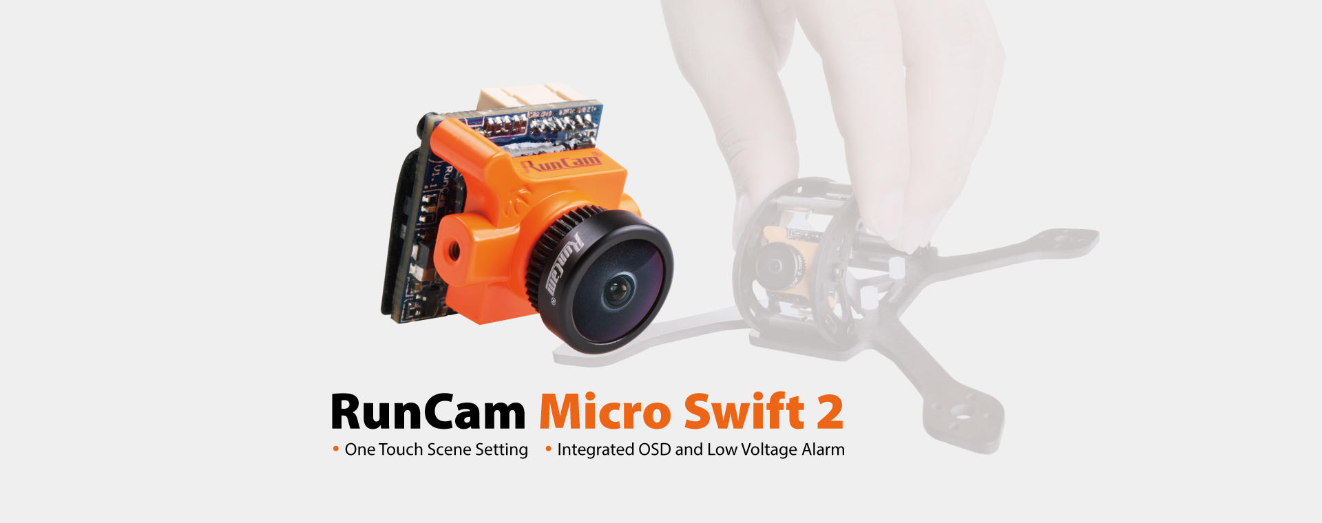 Micro Swift 2 smallest fpv camera - Quadcopters.co.uk